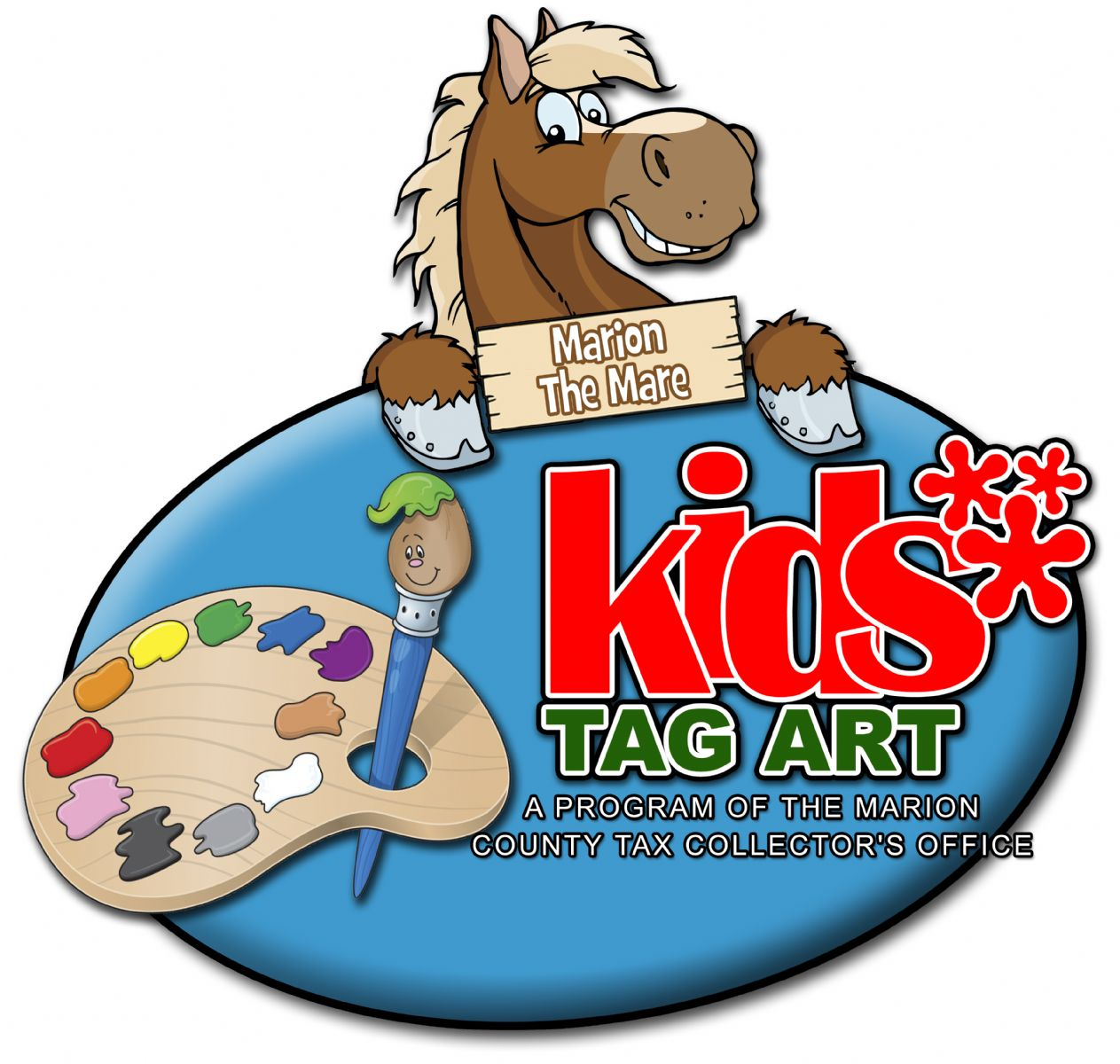 Kids Tag Art Marion